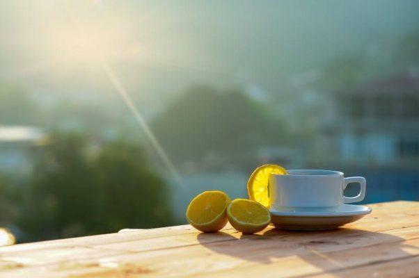 Kawa z cytryną i prozdrowotne wlaściwości